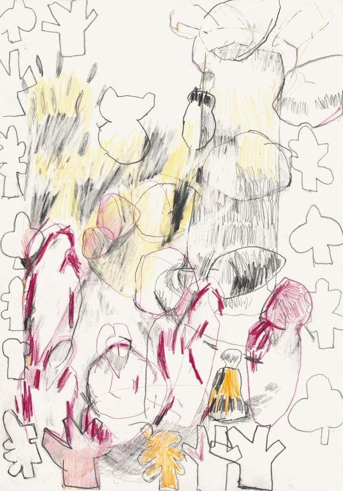 Auflösung III, Matthias Plenkmann, Zeichnungen 2020